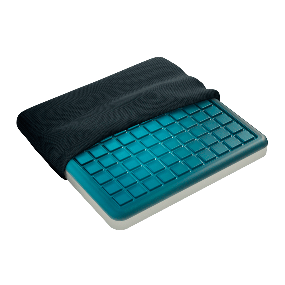 Gel Seat Pad Adds Cool, Cushioned Support To Chairs & Car